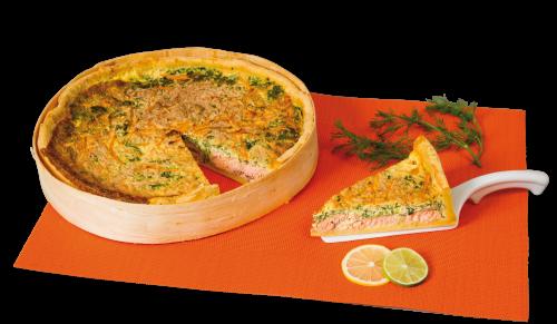 Quiche saumon épinards 2.9kg
