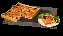 Feuilletés/ Pizzas/ Quiches/Coquilles