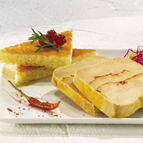 Foie gras de canard entier au piment d'Espelette