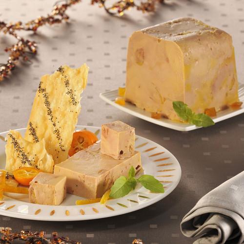* Foie gras de canard entier