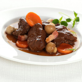 Boeuf bourguignon 10 parts