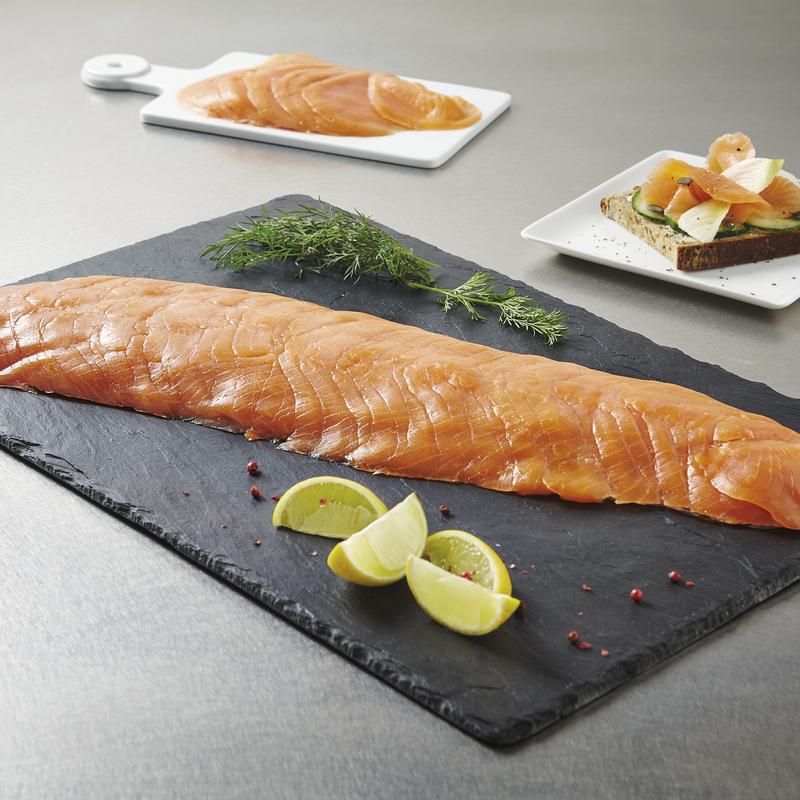 saumon atlantique fum 600 900g sans intercalaire viande et volaille. Black Bedroom Furniture Sets. Home Design Ideas